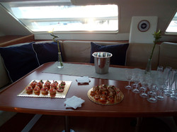 Sail trip on the boat Lisbon