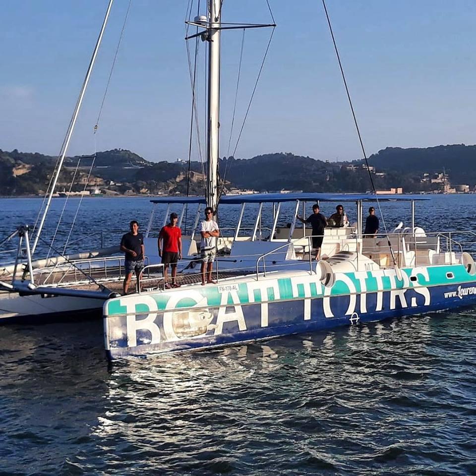 Catamaran para 55 pax
