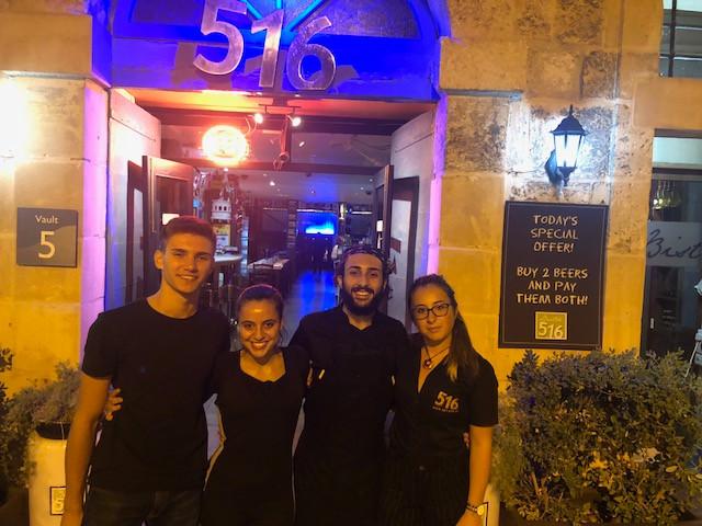 I ragazzi del progetto europeo di Kairos Mestieri  impegnati a Malta
