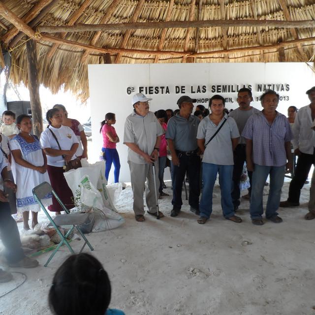 Fiesta de Semillas Nativas, Hopelchén 2013