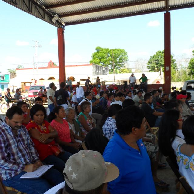 Asistentes a la Fiesta de Semillas Iturbide 2016
