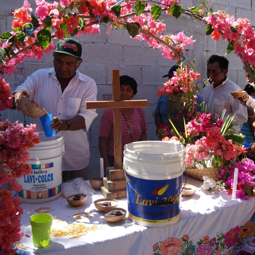 Sakab y altar, Sahcabchén 2010