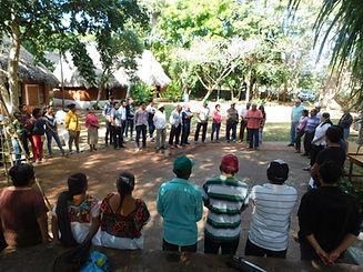 Encuentro de Comunidades Mayas
