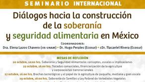 Diálogos hacia la construcción de la soberanía y seguridad alimentaria en México