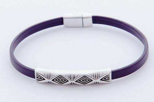 Aztec Diamond-Deep Plum Purple