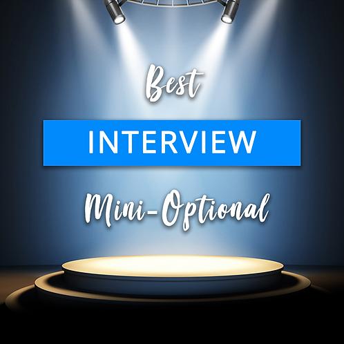 Best Interview