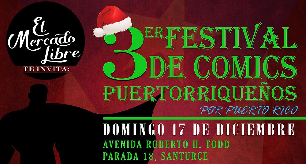 Tercer Festival de Cómics Puertorriqueños