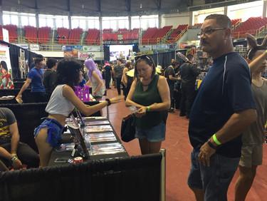 Laziva conquista el Aguada Comic Fest