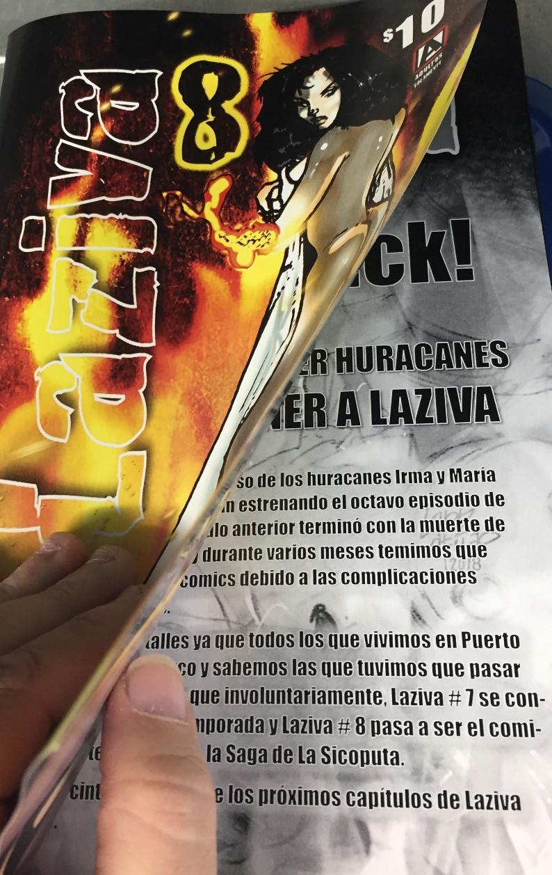 Reseña de Laziva # 8 por José M Reyes
