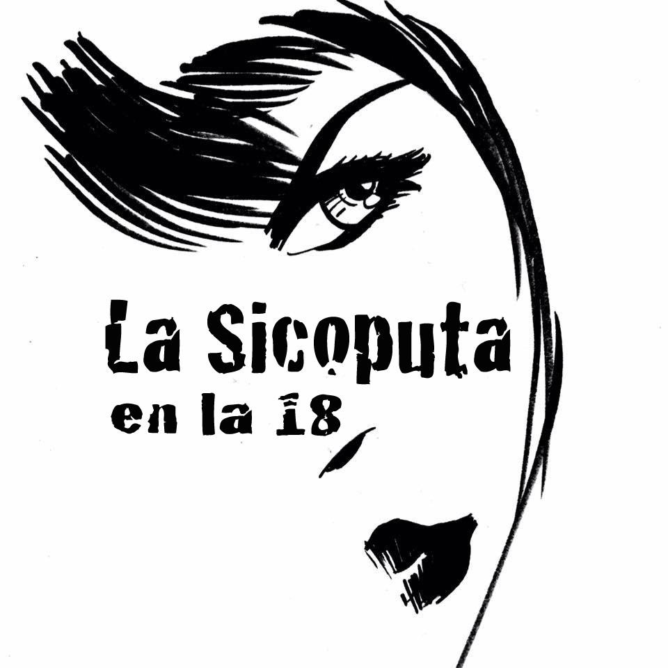 La Sicoputa en la 18. Laziva Comix en el Mercado Libre de Santurce.