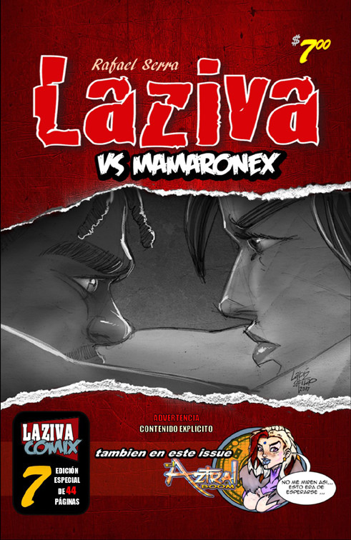 Laziva vs Mamaronex, portada de Laziva # 7