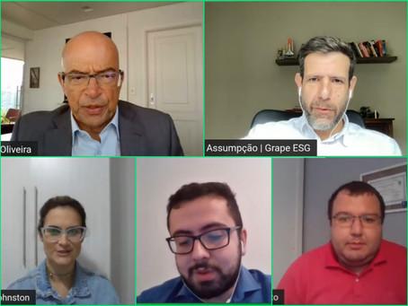 Ricardo Assumpção comenta a COP26 em webinar da GO Associados sobre o Boletim Focus