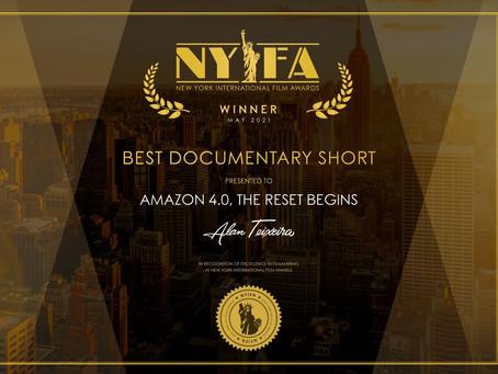Amazônia 4.0 conquista prêmio em festival internacional de Nova Iorque