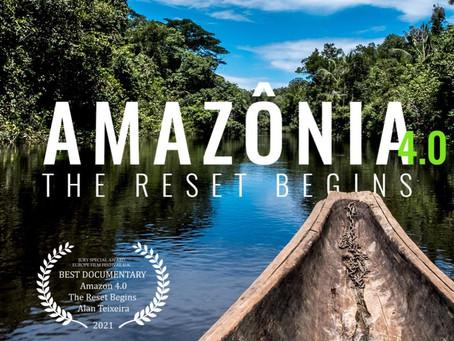 'Amazônia 4.0' vence prêmio de Melhor Documentário do Europe Film Festival UK, no Reino Unido