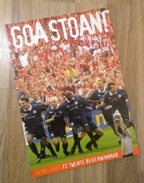 Boek Bekerwinst FC Twente