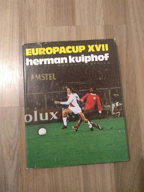 Boek Europacup XVII