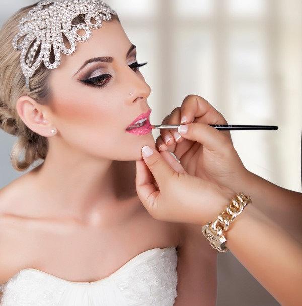 Maquillage du visage - Mariage