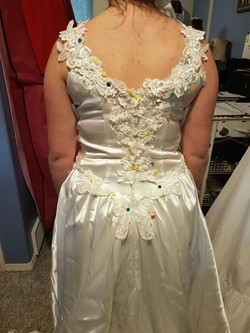 Refurbished 80's Gown