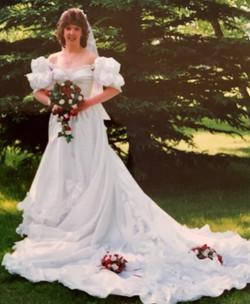 Original 80's Gown