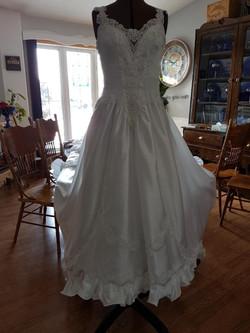Refurbish 80's Gown