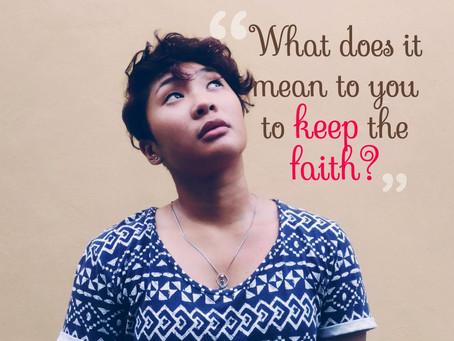 Keeping the Faith?