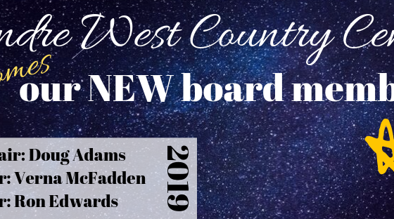 Welcome our new members to the board