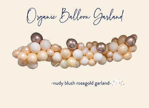 Nudy Blush Rosegold Garland