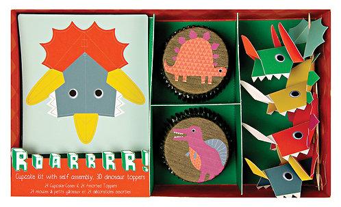 Meri Meri Pop-out Dinosaur Cupcake Kit