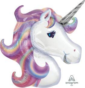 Helium-inflated Pastel Unicorn