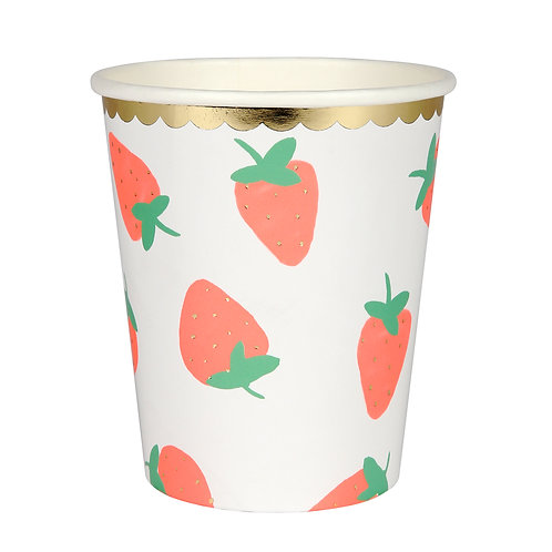Meri Meri Strawberry Cups