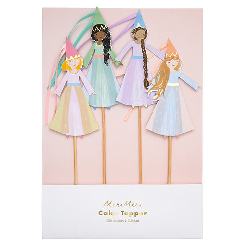 Meri Meri Magical Princess Cake Toppers