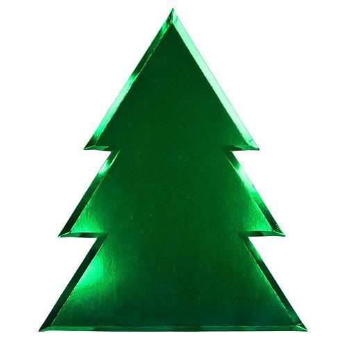 Meri Meri Christmas Tree Plates