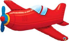 Helium-inflated Red Vintage Airplane