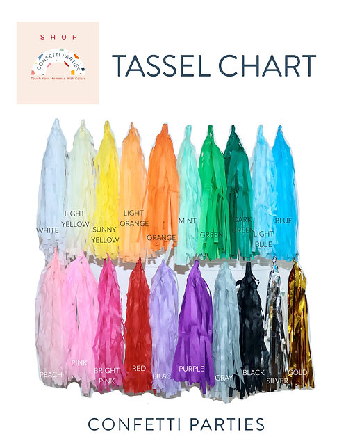 Add-on Tassel