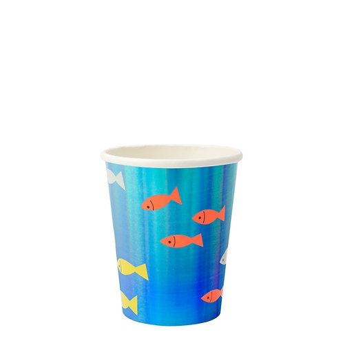 Meri Meri Under The Sea Cups