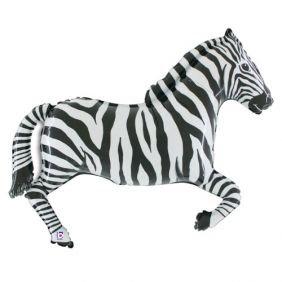 Helium-inflated Zebra