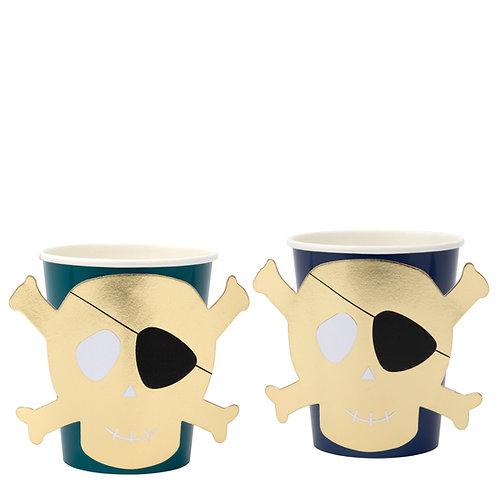 Meri Meri Pirates Bounty Party Cups