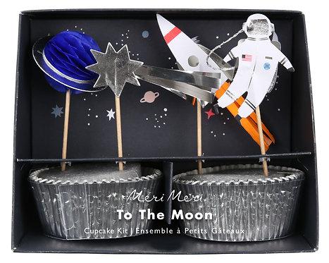 Meri Meri To The Moon Cupcake Kit