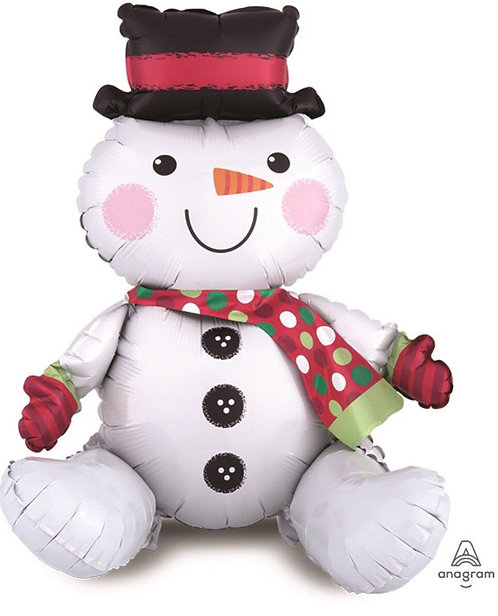Sitting Snow Man (AIR -inflated/ NOT flying)