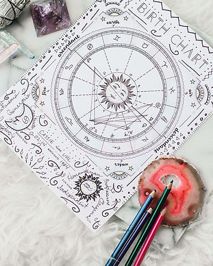 DIY Birth Chart in 10 Steps + Free Birth
