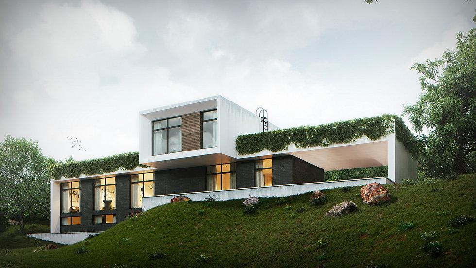 Дом в современном стиле архитектор дизайнер Сочи