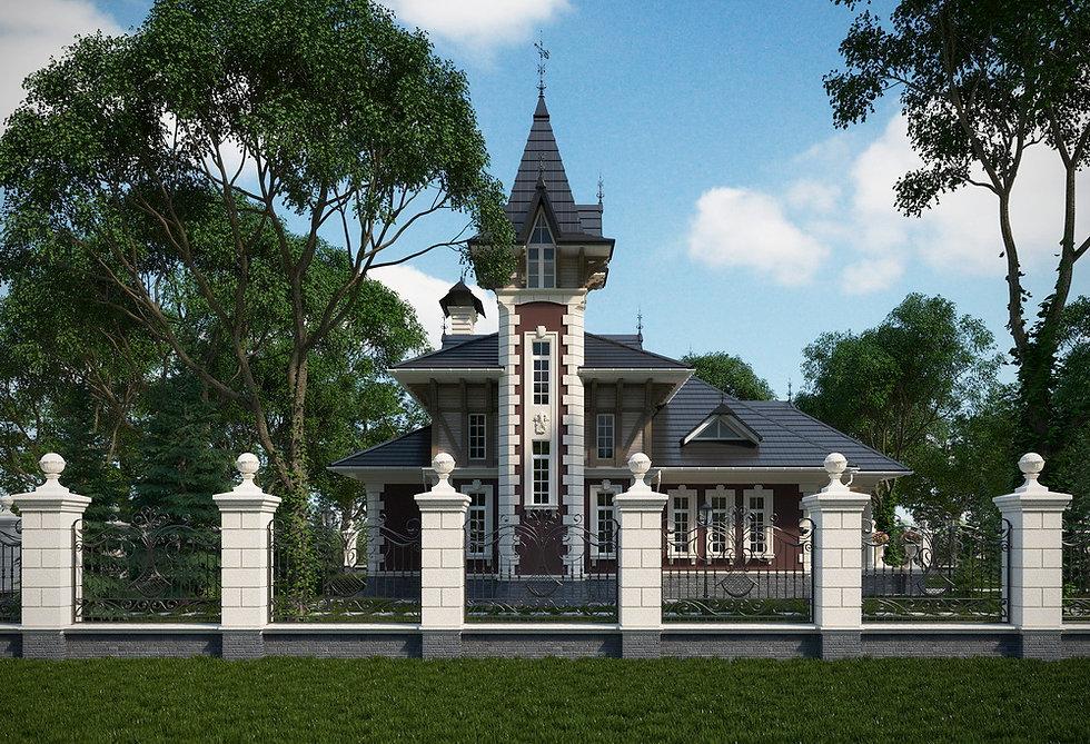 Дом в викторианском стиле в Сочи|архитектор|дизайнер|Сочи|дом в классическом стиле
