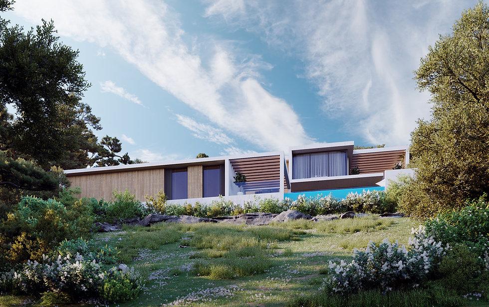 Дом на склоне, конструктивизм, минимализм, постмадернизм, хай-тек, архитектор сочи, Максим Любецкий