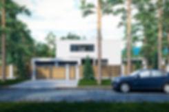 Проект дома в ОмскеСовременный дом в Сочи|архитектор|дизайнер|Сочи|