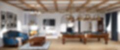 казачий курень интерьер в казачем стиле интерьер в стиле кантри проект квартиры в Сочи архитектор дизайнер Сочи