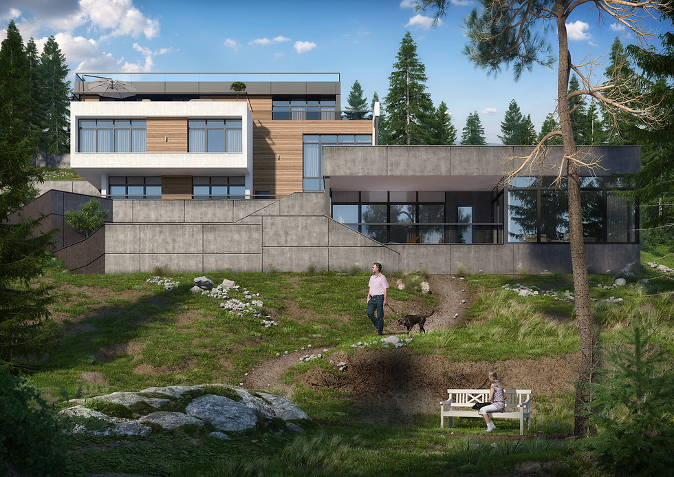 Частный современный дом в Лазаревском, Сочи|архитектор|дизайнер|Сочи|