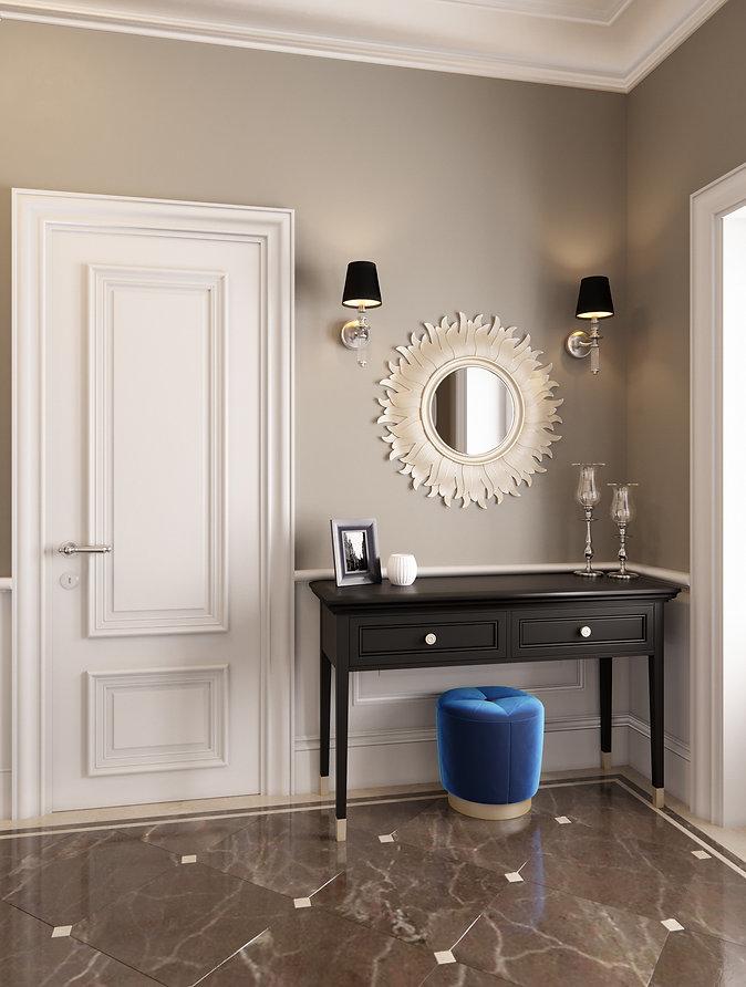 американская классика|интерьер в классическом стиле|проект квартиры в Сочи|архитектор|дизайнер|Сочи|дизайн интерьера сочи