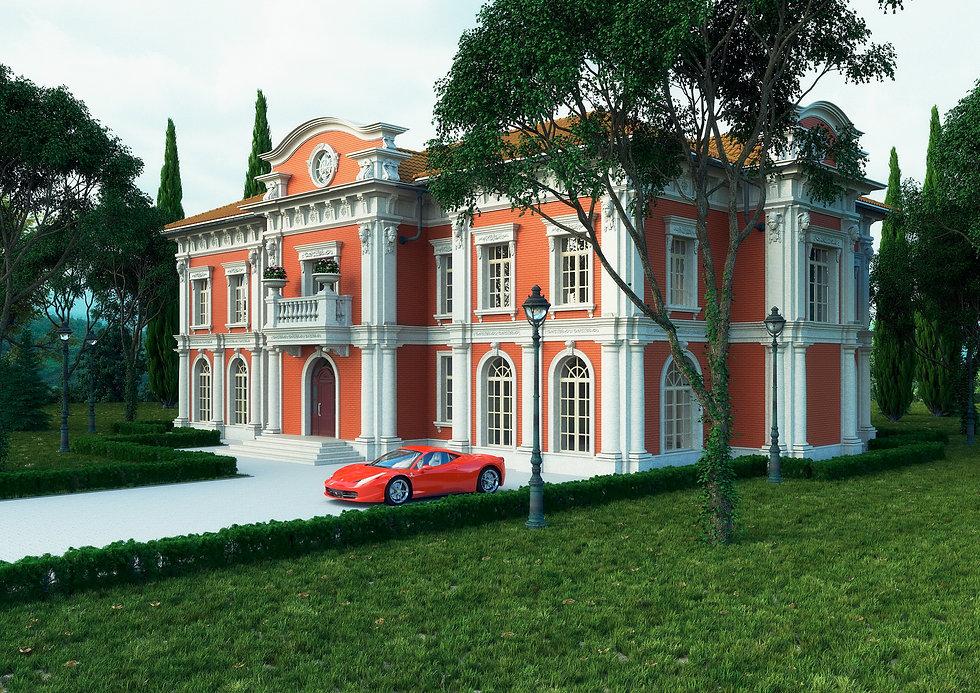 архитектор|дизайнер|Сочи|дом в классическом стиле