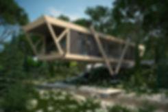 Современный деревянный дом у ручья в Сочи|архитектор|дизайнер|Сочи