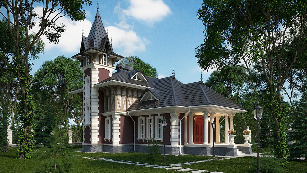Викторианский дом (ЭП)